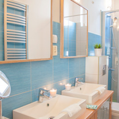 Scandinavian style bathroom by Studio projektowe SUZUME Scandinavian