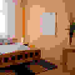 Dormitorios de estilo ecléctico de Studio projektowe SUZUME Ecléctico