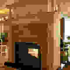 Интерьер дома в пригороде Черкасс Гостиные в эклектичном стиле от дизайн-студия Олеси Середы Эклектичный
