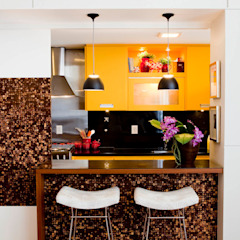 Eclectic style kitchen by Asenne Arquitetura Eclectic