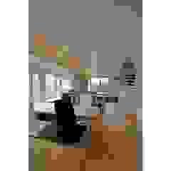 辻史彰建築研究所 Modern dining room