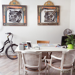 Eclectic style offices & stores by Ideas Interiorismo Exclusivo, SLU Eclectic