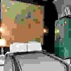 Garage Loft Eclectische slaapkamers van BRICKS Studio Eclectisch