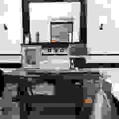Garage Loft Industriële badkamers van BRICKS Studio Industrieel
