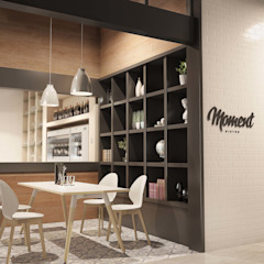 Moment Italian Café de Gresham Office Furniture Moderno
