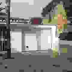 Mediterranean style garage/shed by Rudeco Construcciones Mediterranean