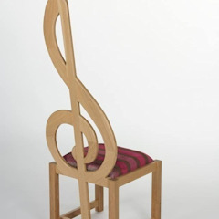 Treble Clef Chair Brocklehurst Furniture Multimedia ruimteMeubels