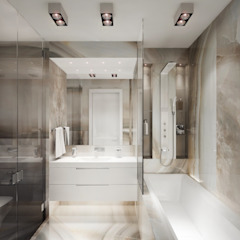 Minimalist style bathroom by DenisBu Minimalist