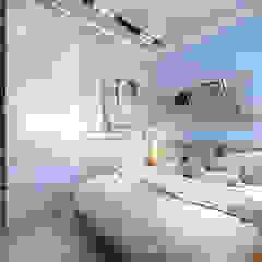 apartment of 35 sq.m. Industrial style bedroom by Entalcev Konstantin Industrial