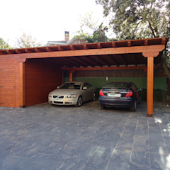 توسط Pergomadera Pérgolas y Porches de madera کلاسیک