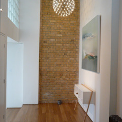 Private Client Modern corridor, hallway & stairs by And Then Design Limited Modern