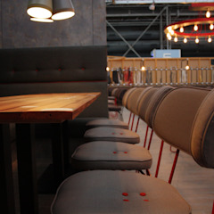 Clydebuilt Industrial style gastronomy by And Then Design Limited Industrial