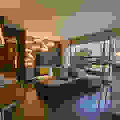 Just Married Salas de estar minimalistas por Studiodwg Arquitetura e Interiores Ltda. Minimalista