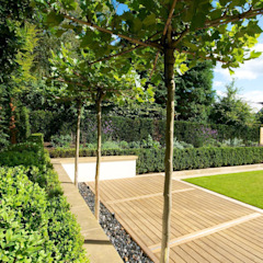 Family Garden, Cheshire par Barnes Walker Ltd