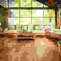 Paredes e pisos tropicais por Timberplan Tropical