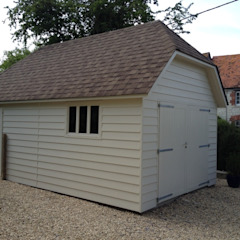 Timber Garage من Garden Affairs Ltd بلدي