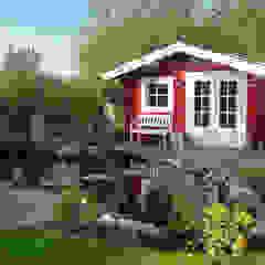 Pretty Log Cabin โดย Garden Affairs Ltd คันทรี่