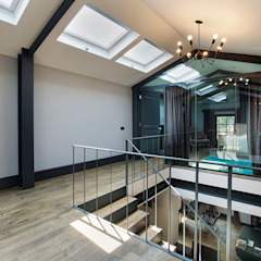 Levent Villa Endüstriyel Yatak Odası Udesign Architecture Endüstriyel