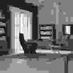 Wnętrze w stylu Country! Rustykalne domowe biuro i gabinet od Seart Rustykalny