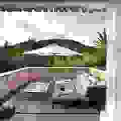 Ibiza House Hiên, sân thượng phong cách Địa Trung Hải bởi TG Studio Địa Trung Hải