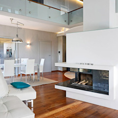 Pracownia projektowa artMOKO Scandinavian style living room