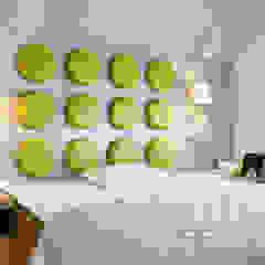 Pracownia projektowa artMOKO Scandinavian style bedroom