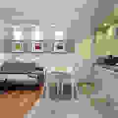 Pracownia projektowa artMOKO Eclectic style kitchen