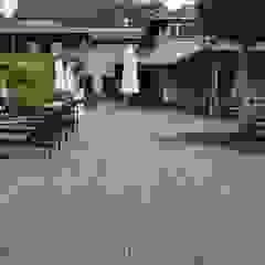Bamboe buiten vloeren Tropische hotels van Eco-Logisch Tropisch
