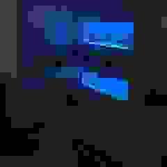 In wall aquarium Aquarium Services Salon moderne