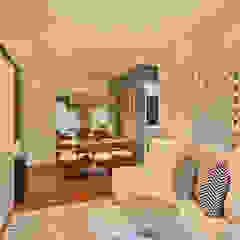 Brooklin   Decorados Salas de estar modernas por SESSO & DALANEZI Moderno