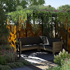 Jardines de estilo moderno de Bladgoud-tuinen Moderno