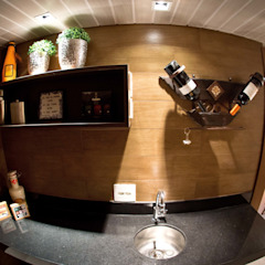 Eclectic style wine cellar by INOVA Arquitetura Eclectic