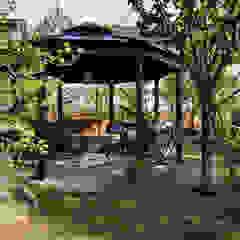 Vườn phong cách chiết trung bởi 秦造園 Chiết trung