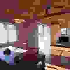 Livings de estilo moderno de 近建築設計室 KON Architect Office Moderno