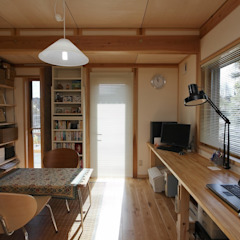 Oficinas y bibliotecas de estilo asiático de 近建築設計室 KON Architect Office Asiático