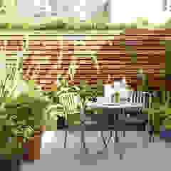 Open-Plan Kitchen/Living Room, Ladbroke Walk, London Modern garden by Cue & Co of London Modern