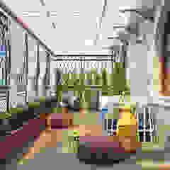 Mediterranean style balcony, porch & terrace by Sweet Home Design Mediterranean