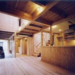H2O設計室 ( H2O Architectural design office ) ห้องนั่งเล่น