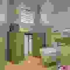 Ristrutturazione appartamento di vacanza Bagno minimalista di Archidé SA interior design Minimalista