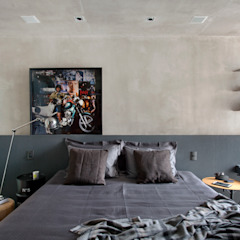 Industrial style bedroom by Studio ro+ca Industrial