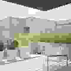 Gantous Arquitectos Modern Terrace