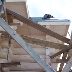 na budowie ... od DOMY GORALSKIE Wiejski