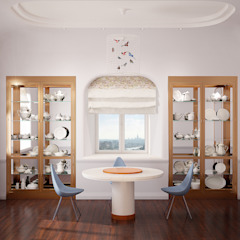 Line In Design Eclectic style dining room
