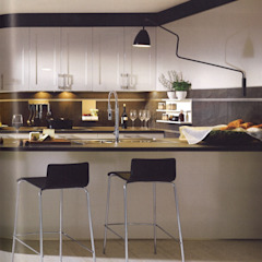 Cocinas de estilo moderno de Eiland de Wild Keukens Moderno