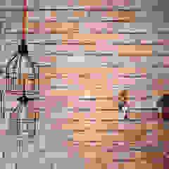 Mieszkanie Wilanów Skandynawskie ściany i podłogi od Devangari Design Skandynawski