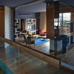 Natural European Oak Flooring Modern Living Room by The Wood Galleries Modern