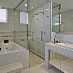 Residência LM Banheiros modernos por Gláucia Britto Moderno
