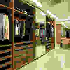 Ruang Ganti Modern Oleh Arquitetura e Interior Modern