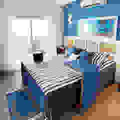 Egzotyczna sypialnia od Mayra Lopes Arquitetura | Interiores Egzotyczny
