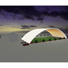 Eclectic style stadiums by IROHA ARCHITECTS DESIGN OFFICE Eclectic